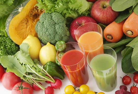 Соки овощи фрукты