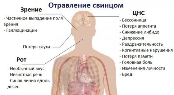 При хронической свинцовой интоксикации анемия может быть thumbnail