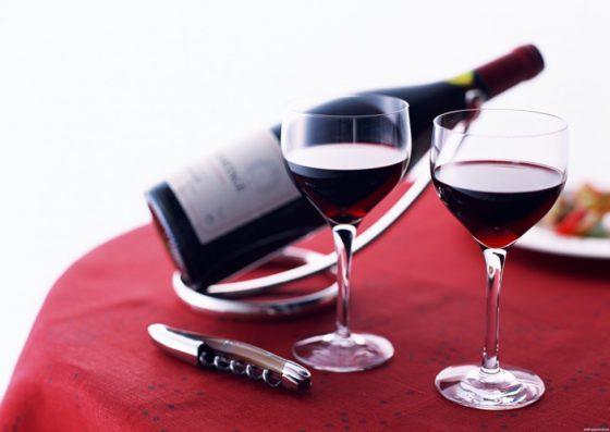 Вино сухое